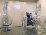 Here are a few more pieces by Sverre Pettersen, ranging from uber mod to more traditional. And here's some basics about glassblowing for you: The key element in clear glass is silica sand, with limestone and potash added as melting compounds and stabilizers. Hadeland's crystal no longer contains lead for environmental safety reasons.