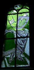 Between 2006 and 2009, German painter and photographer Sigmund Polke produced several eye-catching, modernist stained glass windows for Grossmünster.