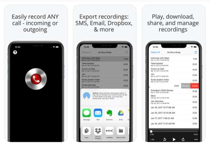 Call Recorder Pro - How To Record A Phone Call On An iPhone