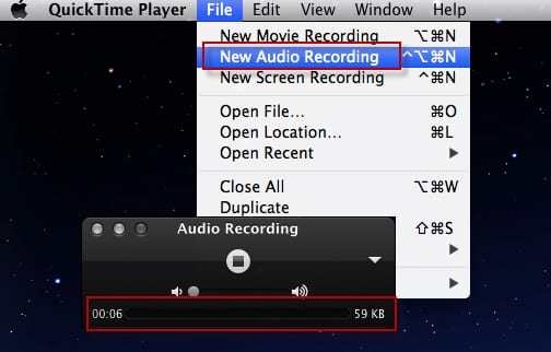 Record A Phone Call Using QuickTime Player