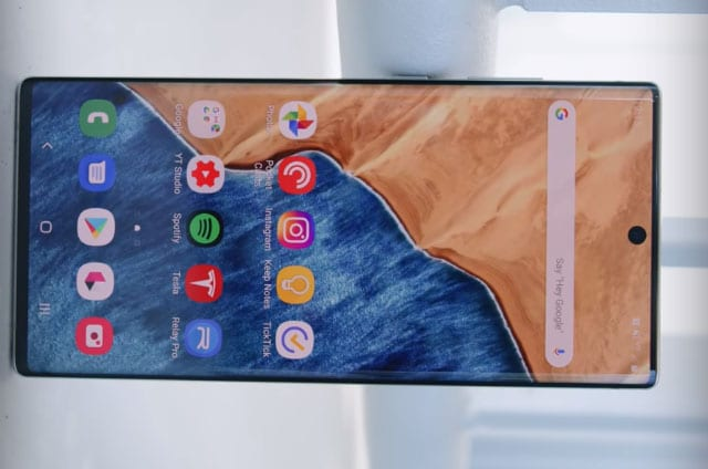 Samsung Galaxy Note 10 Plus Display Screen