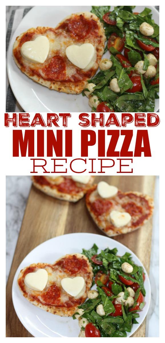 Mini Heart Shaped Pizza Recipe