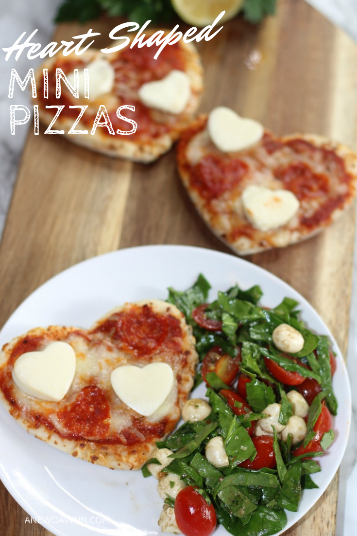 Mini Heart Shaped Pizza Recipe