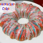 Festive Firecracker Cake made with Kool-Aid Juice Drinks