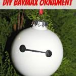 DIY Big Hero 6 Baymax Ornament