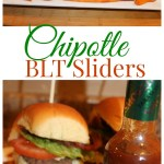 Delicious Party Food: Chipotle BLT Sliders