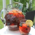 Fresh Brewed Berry Iced Tea {Recipe}