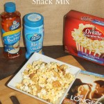 White Cheddar Snack Mix {Recipe} & Movie Night