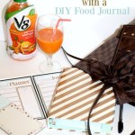 Make Healthier Choices with V8 & This DIY Food Journal