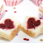 How to Make Surprise Inside Heart Cupcakes