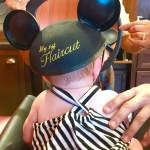 Baby's 1st Haircut at Disney's Harmony Barber Shop #DisneyKids