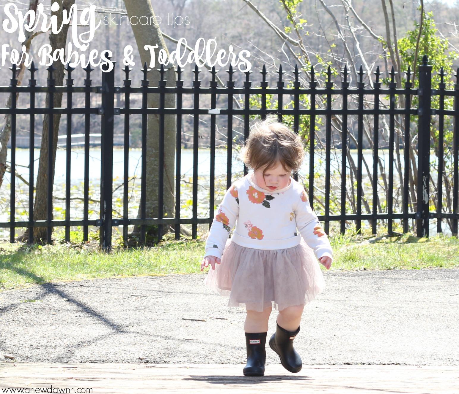 Spring-skin-care-tips-babies