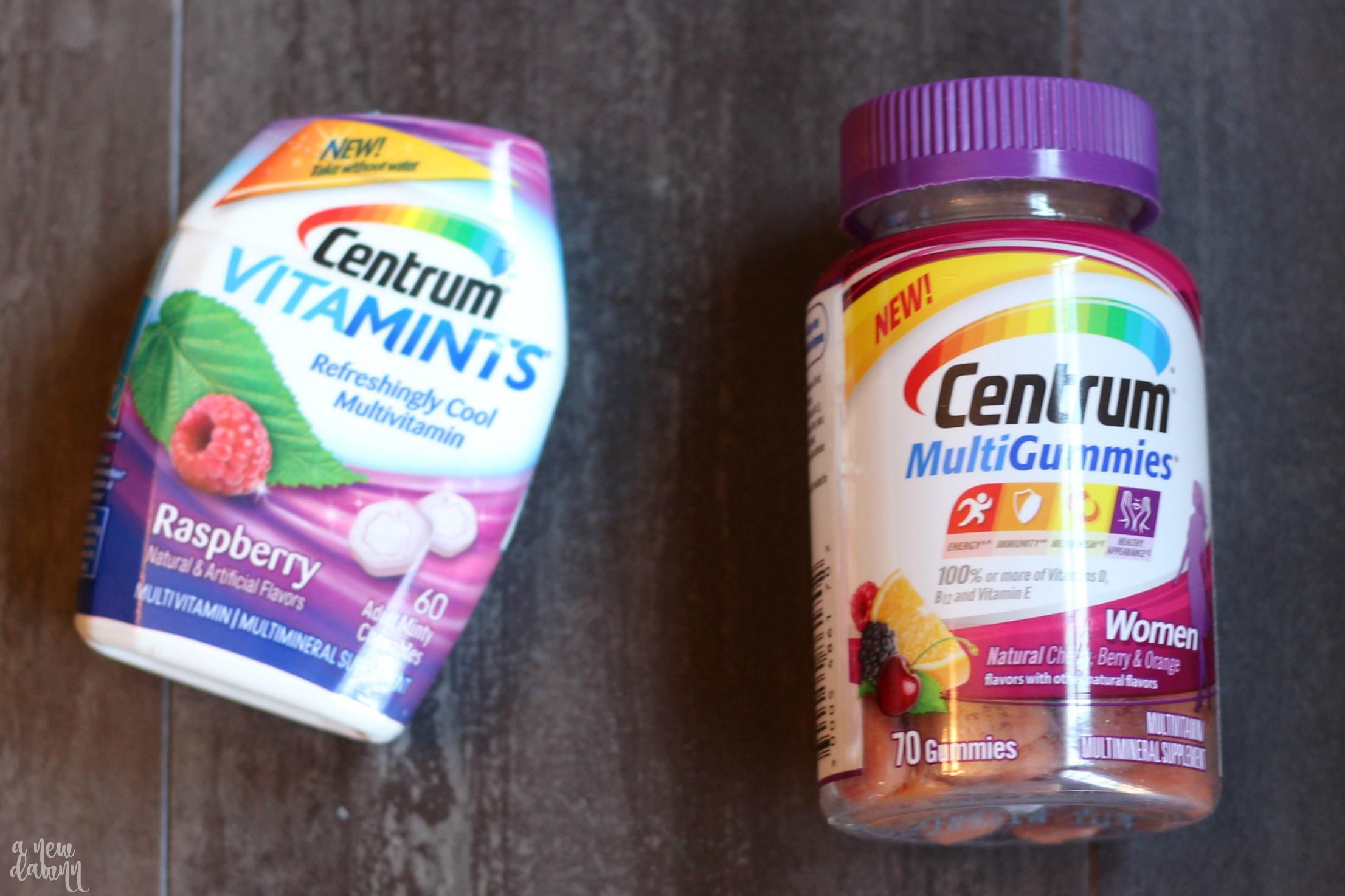 centrum-vitamins