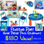 Finding Dory Prize Pack Giveaway ARV $180