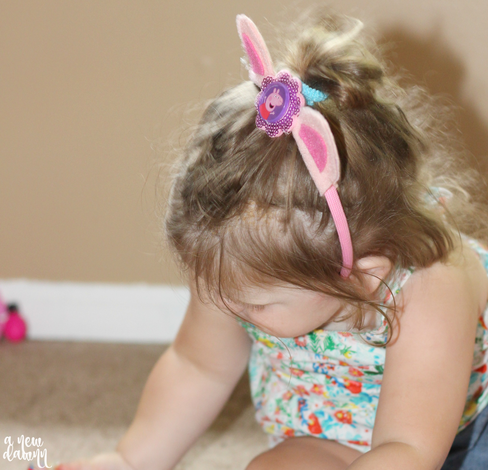 DIY Peppa Pig Headband