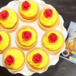Simple to Make Beauty and the Beast Cupcakes