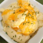 Easy Cheddar Mashed Potatoes