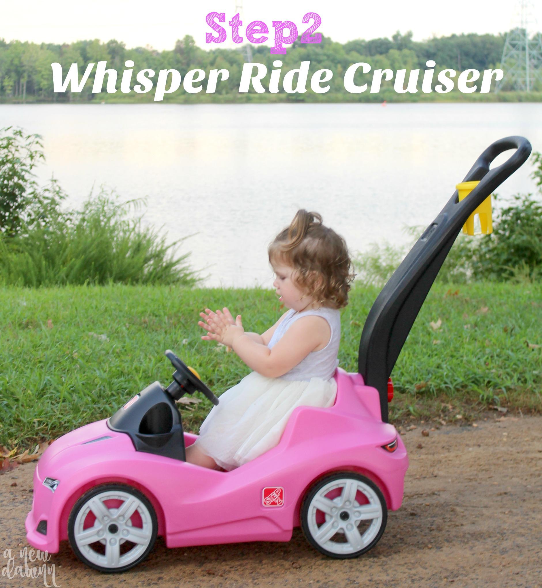 68a89308107 Cruising Around in the Step2 Whisper Ride Cruiser™