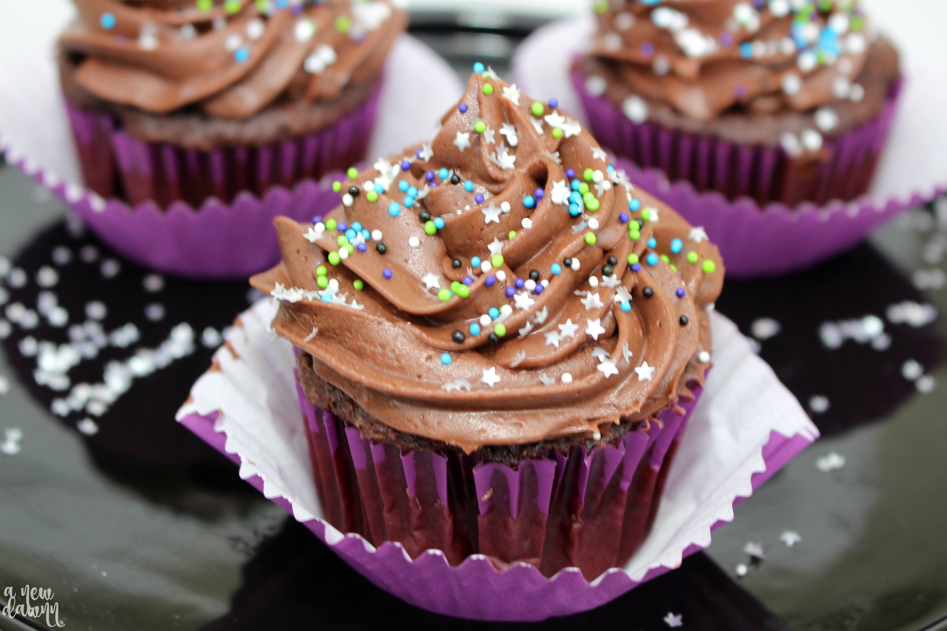 Galactic Cupcake Recipe