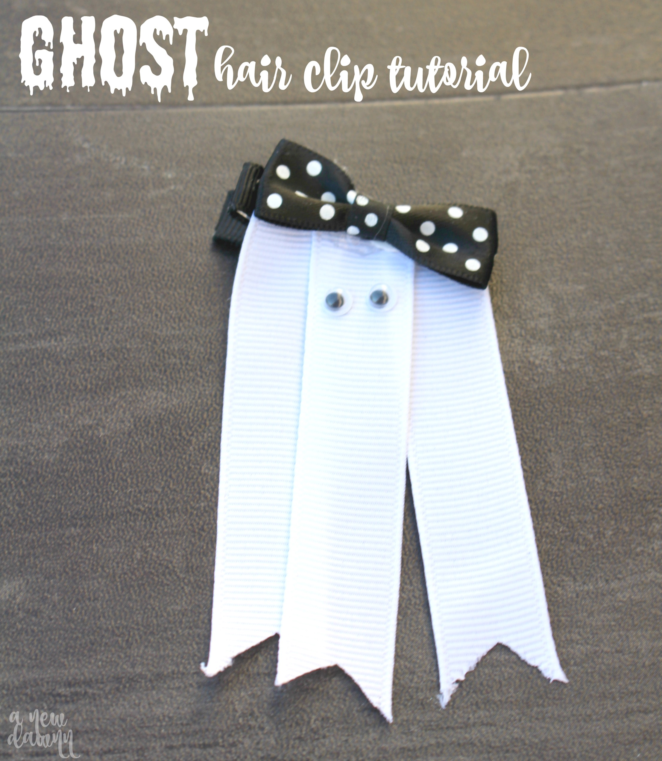 Ghost Hair Clip Tutorial