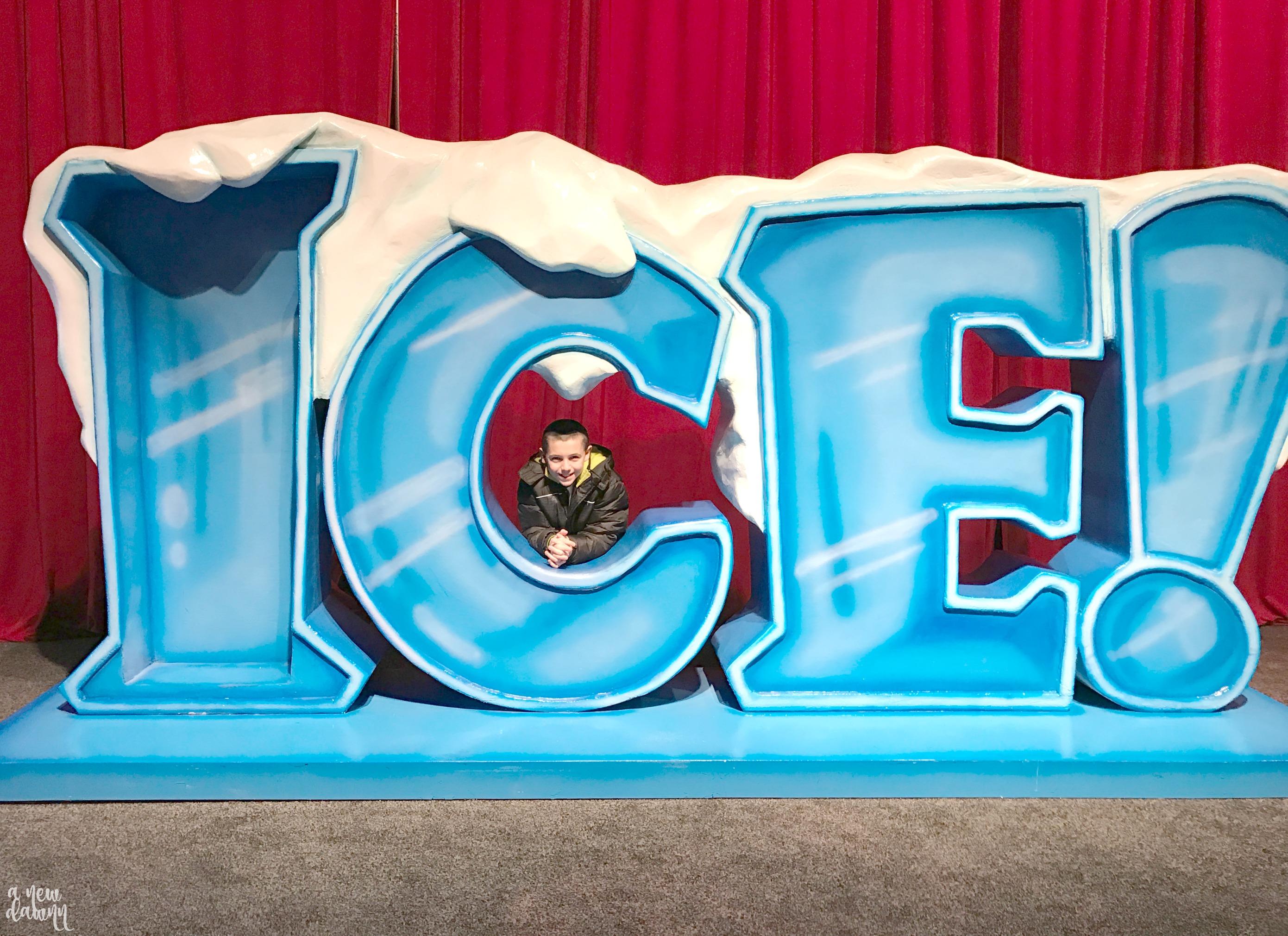 ICE! Christmas on the Potomac
