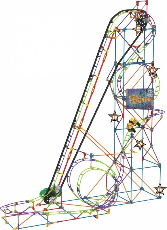K'NEX Wild Whiplash Roller Coaster