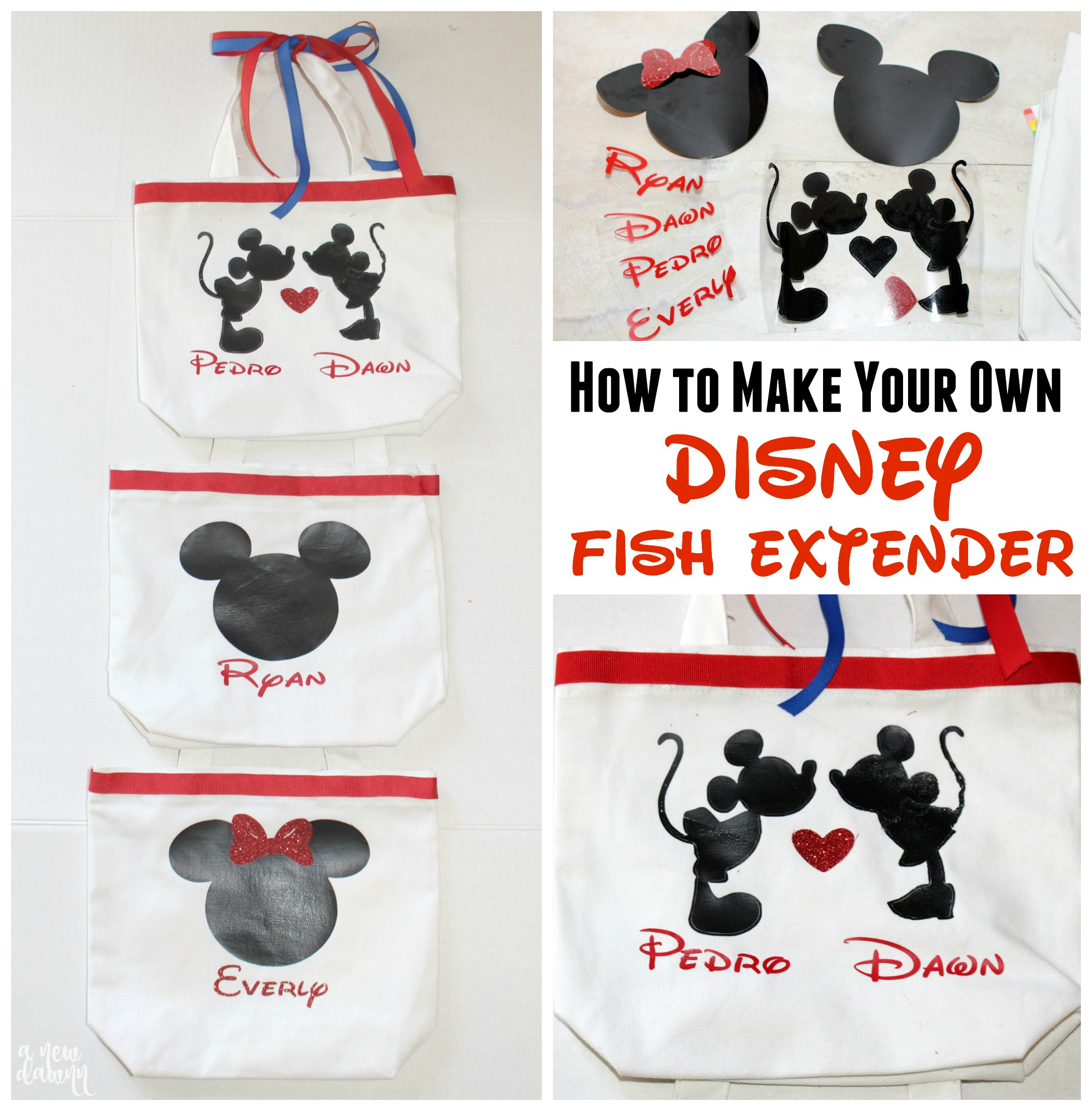 Disney DIY Fish Extender