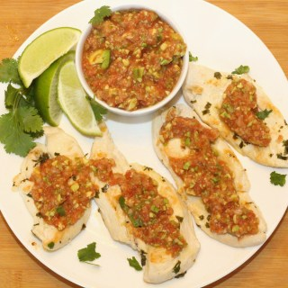 Avocado Salsa Chicken