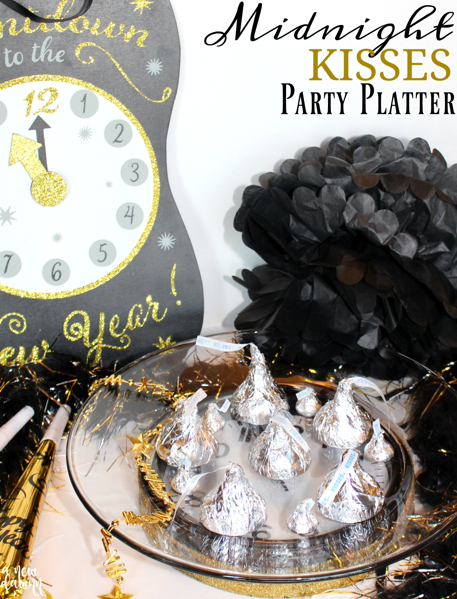 Midnight Kisses Party Platter