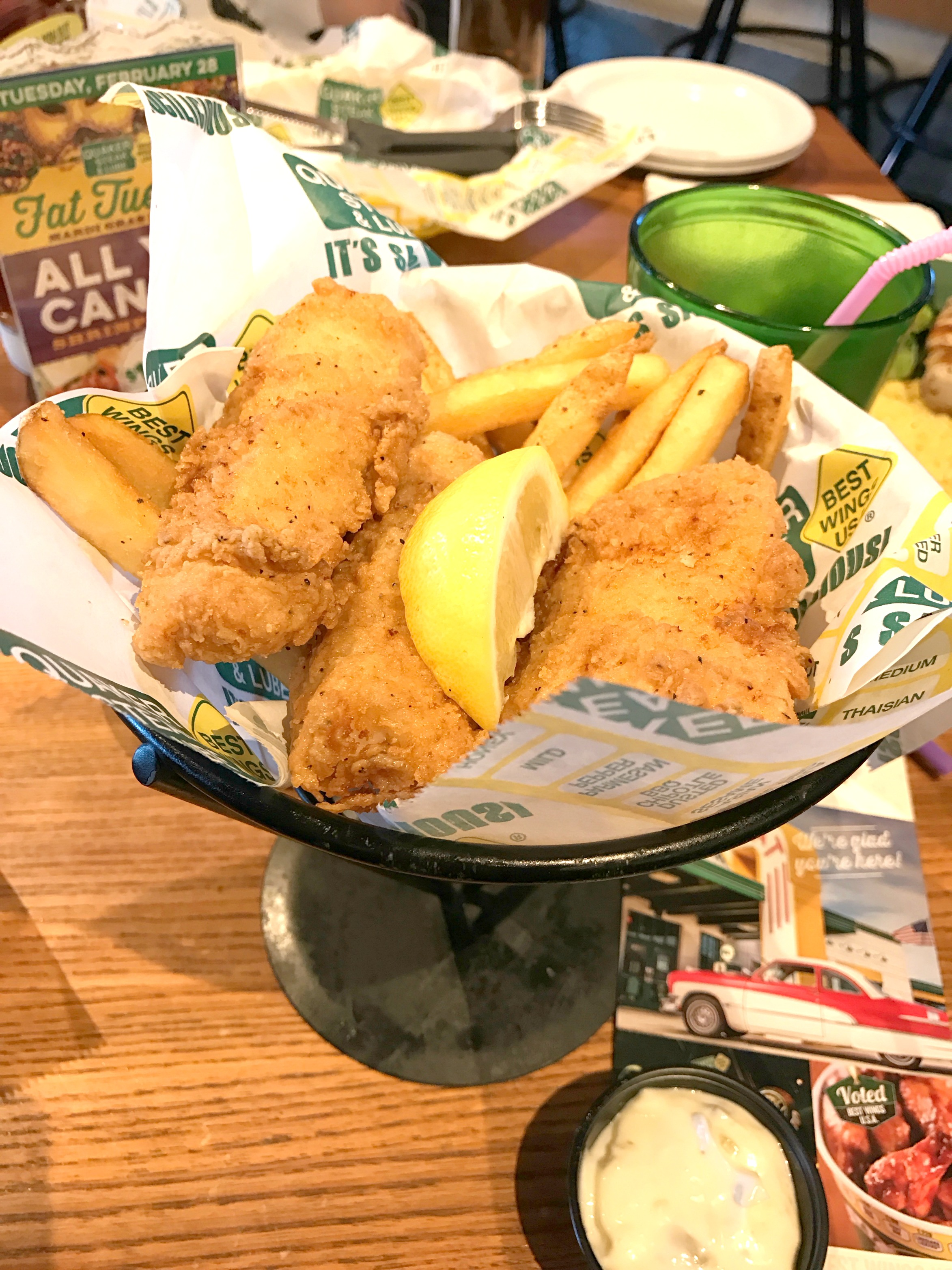 Quaker Steak and Lube #BluesandRockMenu