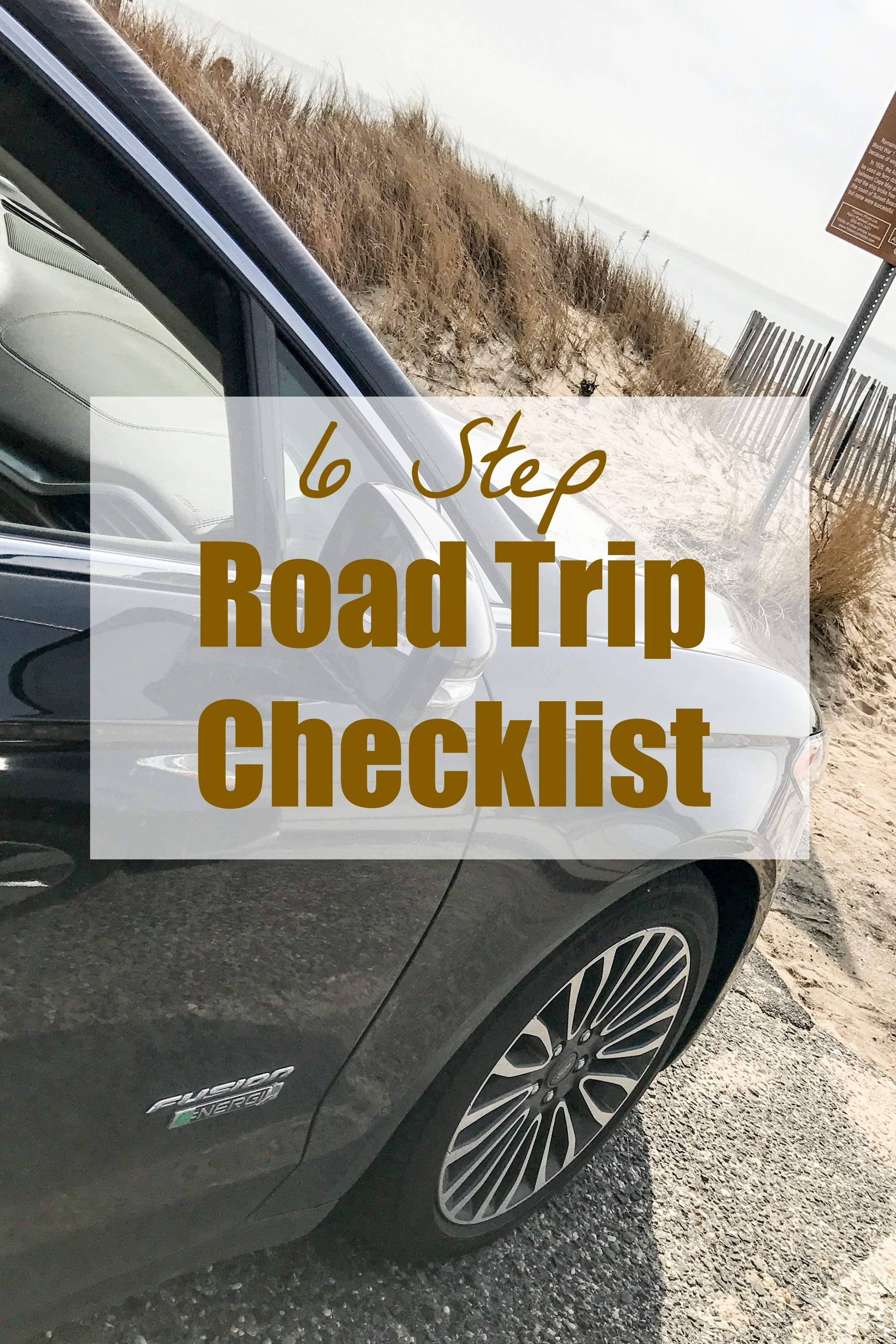 6 Step Road Trip Checklist
