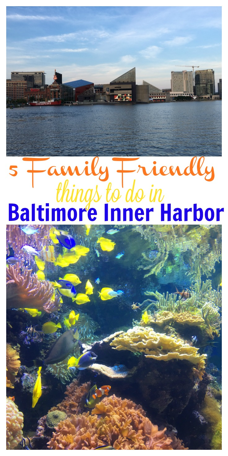 5 Fun Family Friendly Things to Do in Baltimore's Inner Harbor