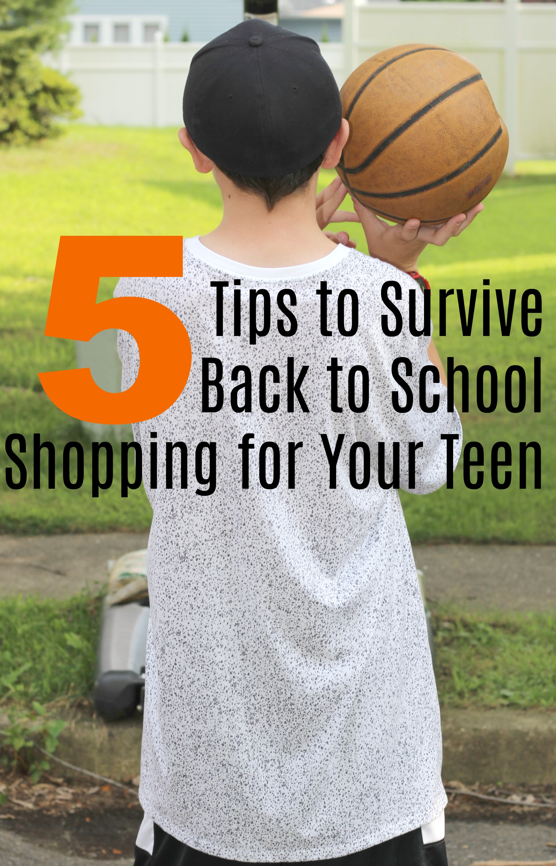 5 Tips to Survive Back to School Shopping for Your Teen