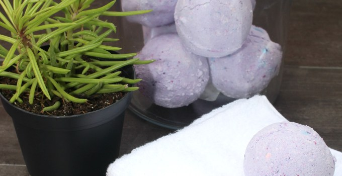 5 Tips for a Relaxing Nighttime Routine + A DIY Lavender Bath Bomb Recipe