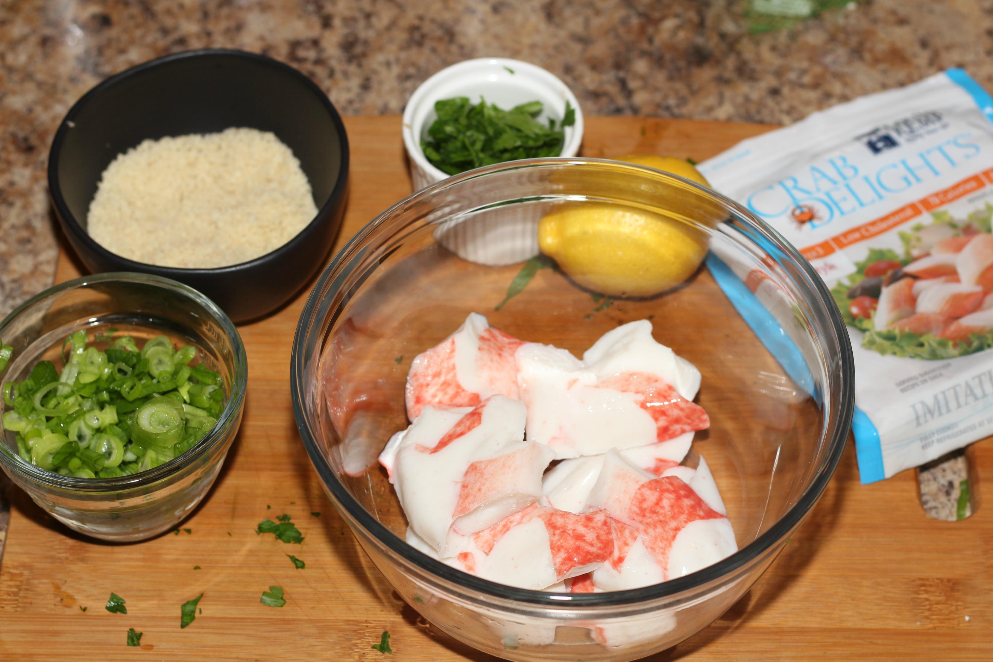 Crab Poppers with Sriracha Aioli