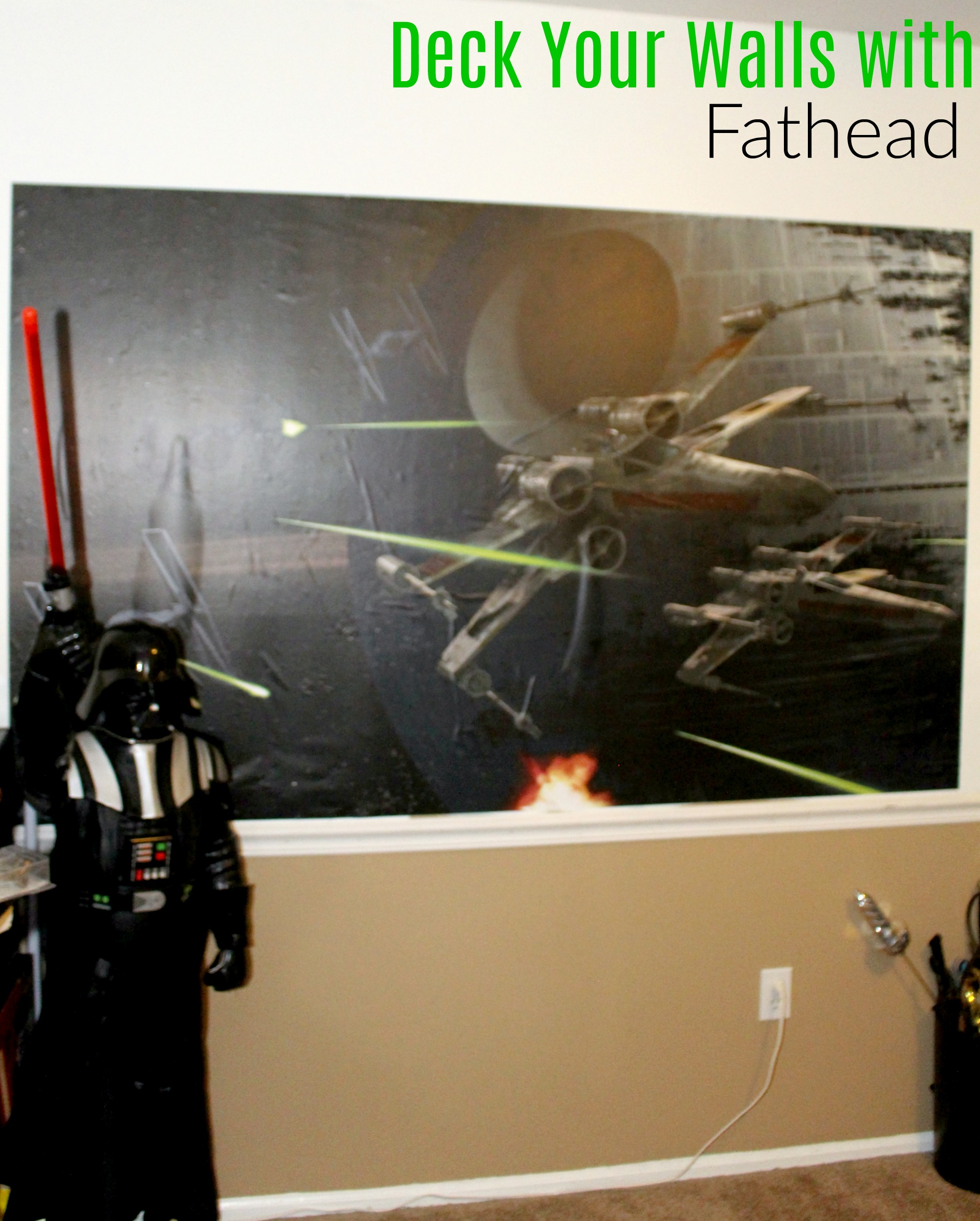 Deck Your Walls with Fathead
