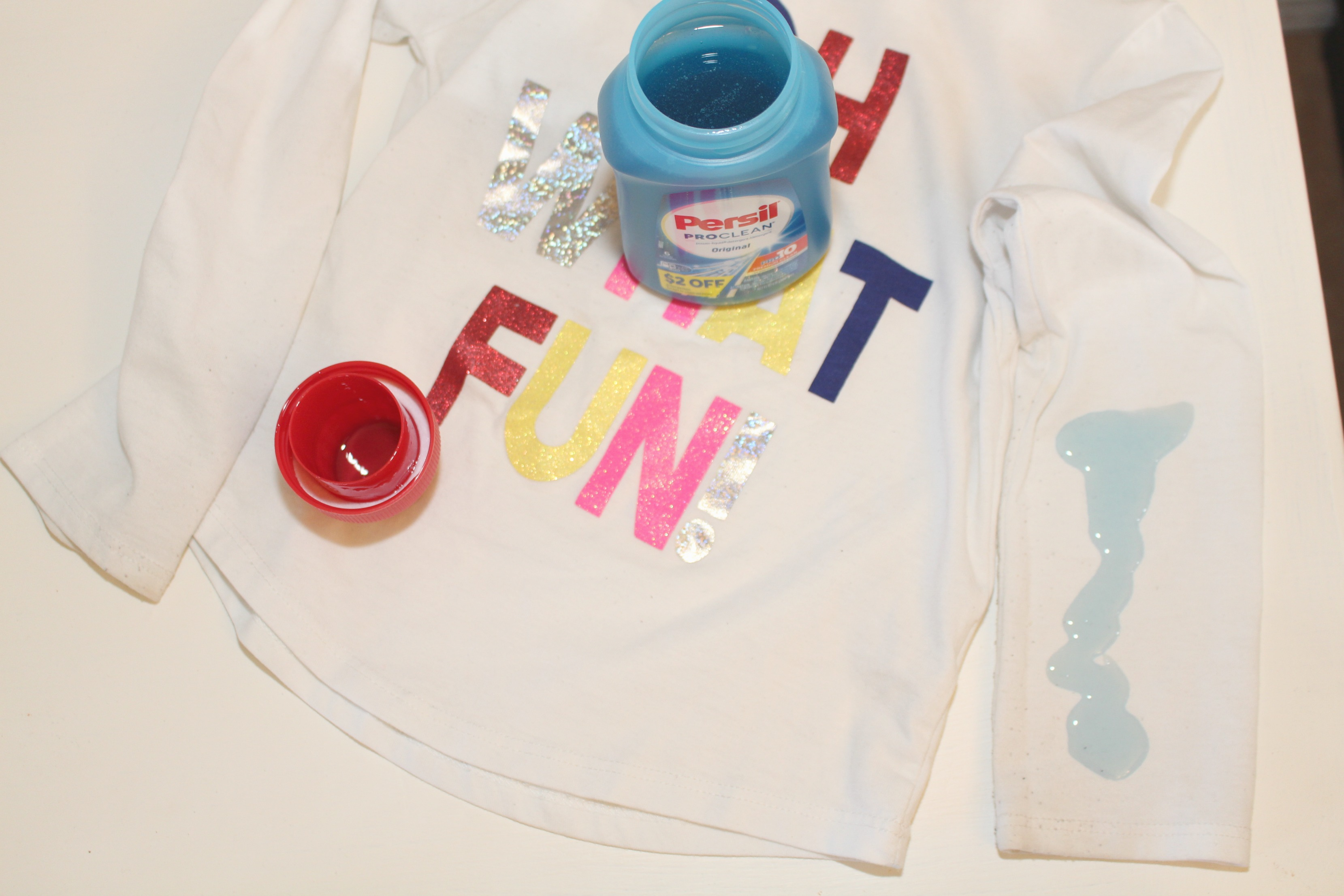 Holiday Fun + Tackling Stains with Persil® Trial Size Found at Target