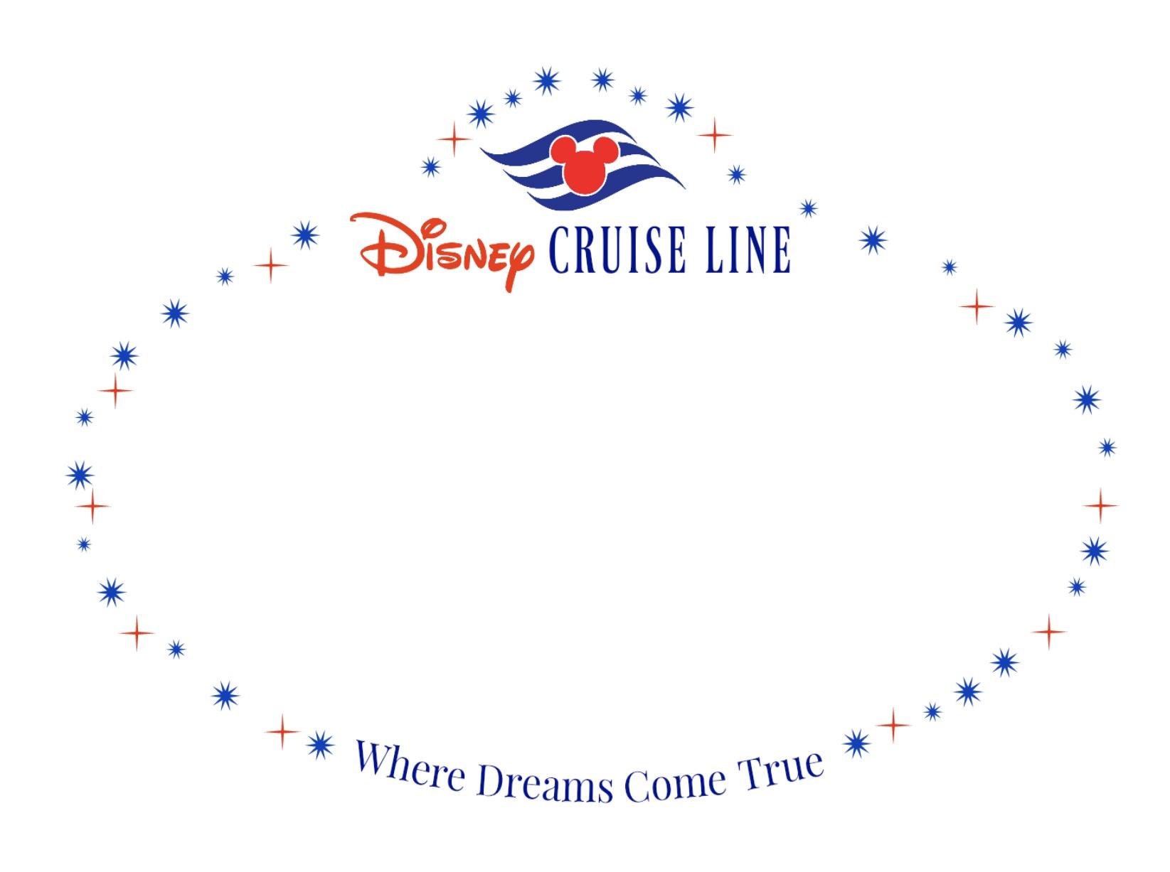 Printable Disney Cruise Line Name Tag
