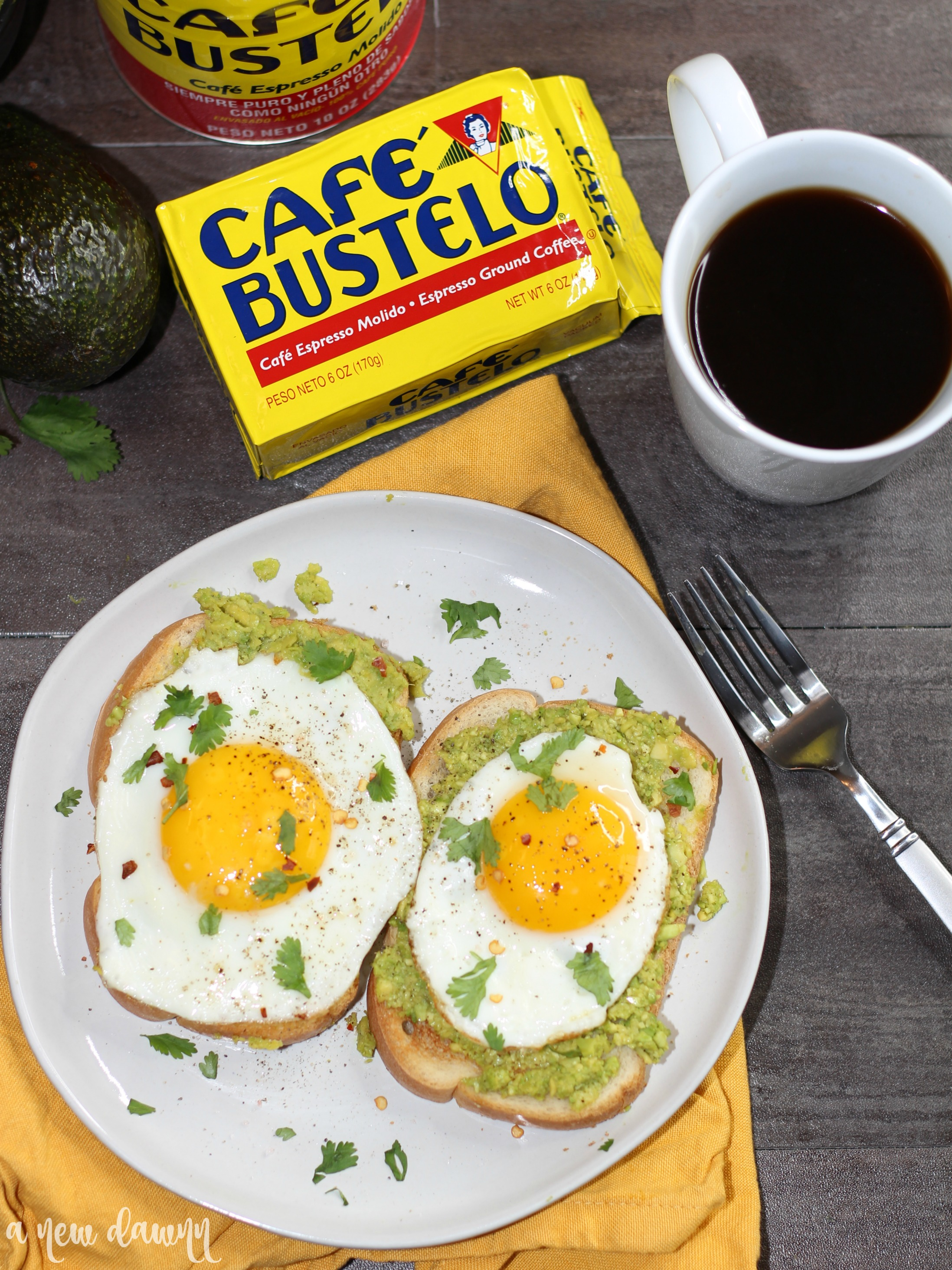 5 Minute Avocado Toast with Egg