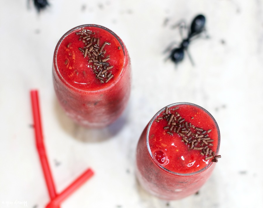 Ant-Man Smoothie Recipe Inspired by ANT-MAN AND THE WASP