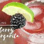Sparkling Blackberry Lime Margarita