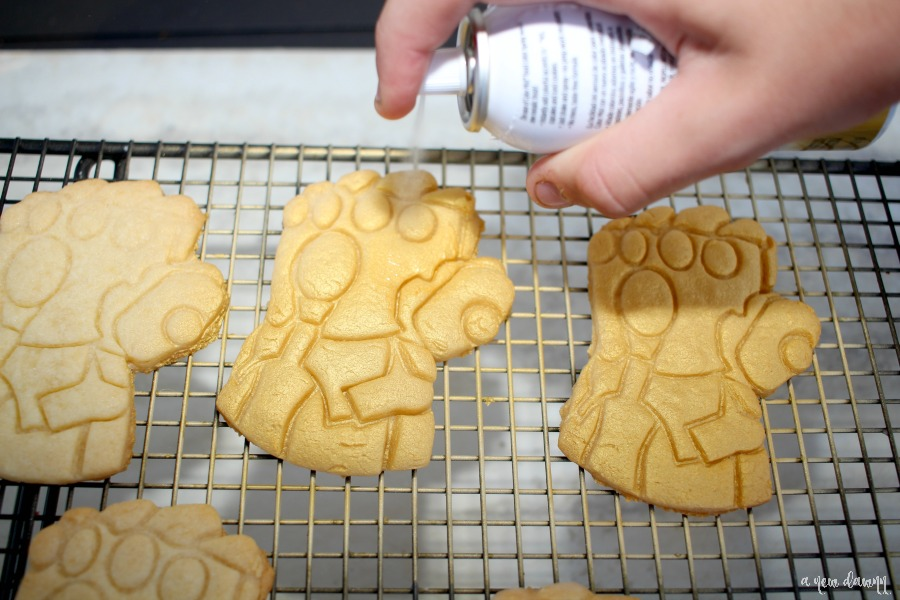Avengers Infinity War Infinity Gauntlet Cookie Recipe