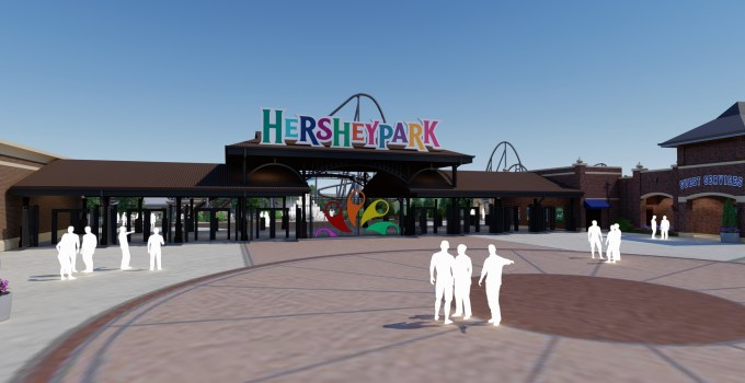 BIG news out of Hersheypark today! Hershey's Chocolatetown Coming Summer 2020