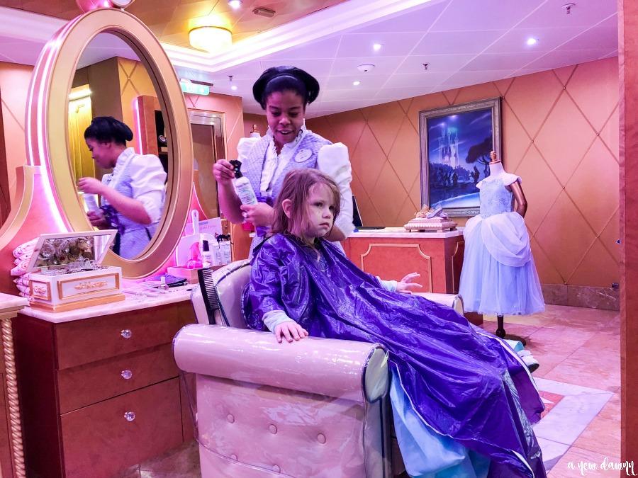 Bibbidi Bobbidi Boutique Onboard the Disney Wonder