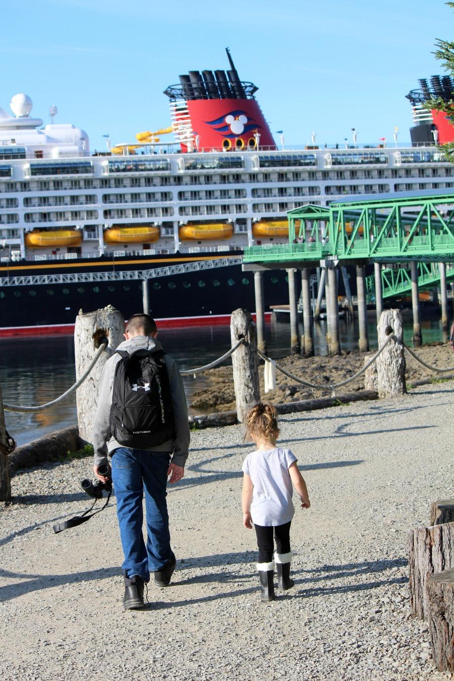 Disney Wonder Alaskan Cruise