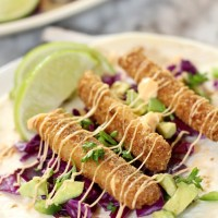 Easy Fish Stick Tacos - How to Make the Best Fish Stick Tacos