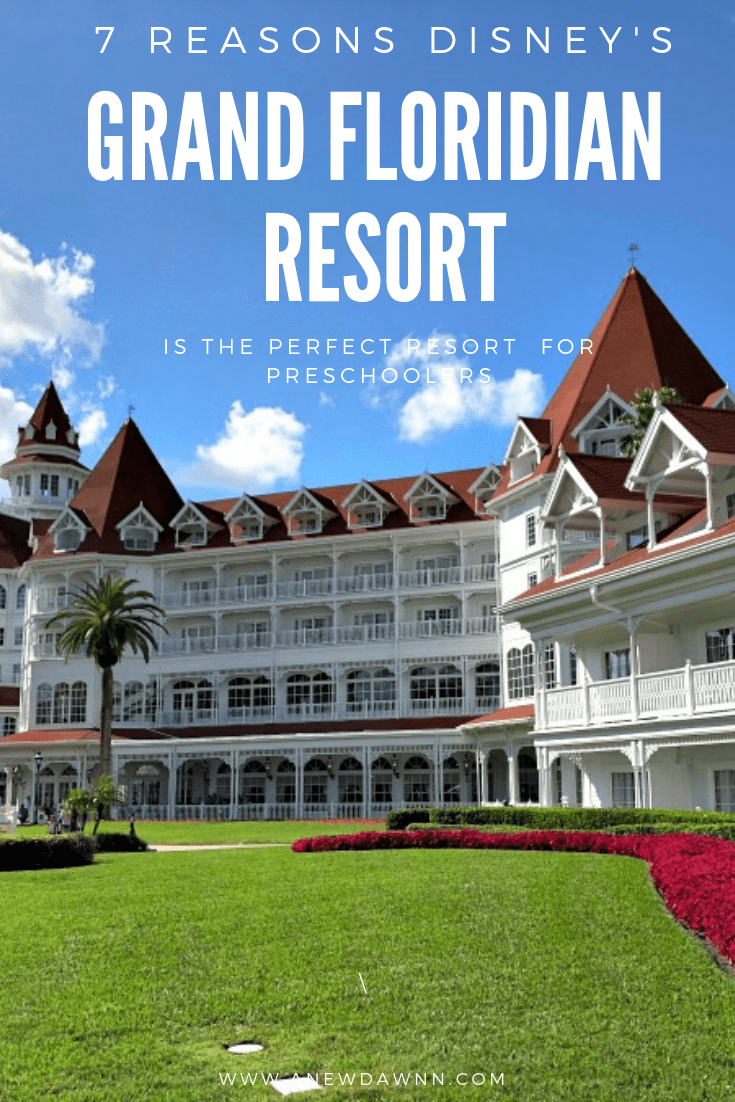 7 Reasons Disney's Grand Floridian Resort is Perfect for Preschoolers