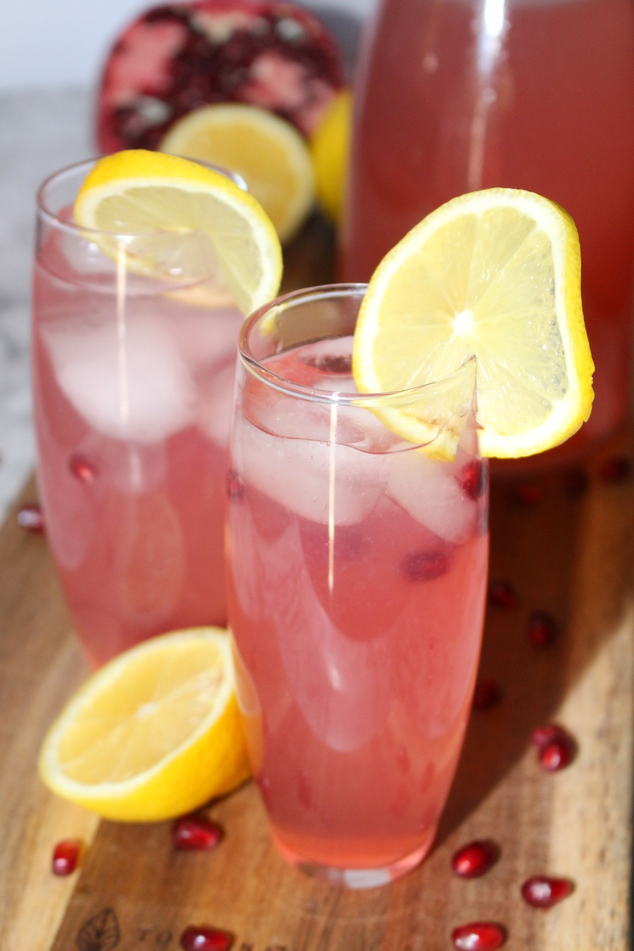 Pomegranate Lemonade Recipe