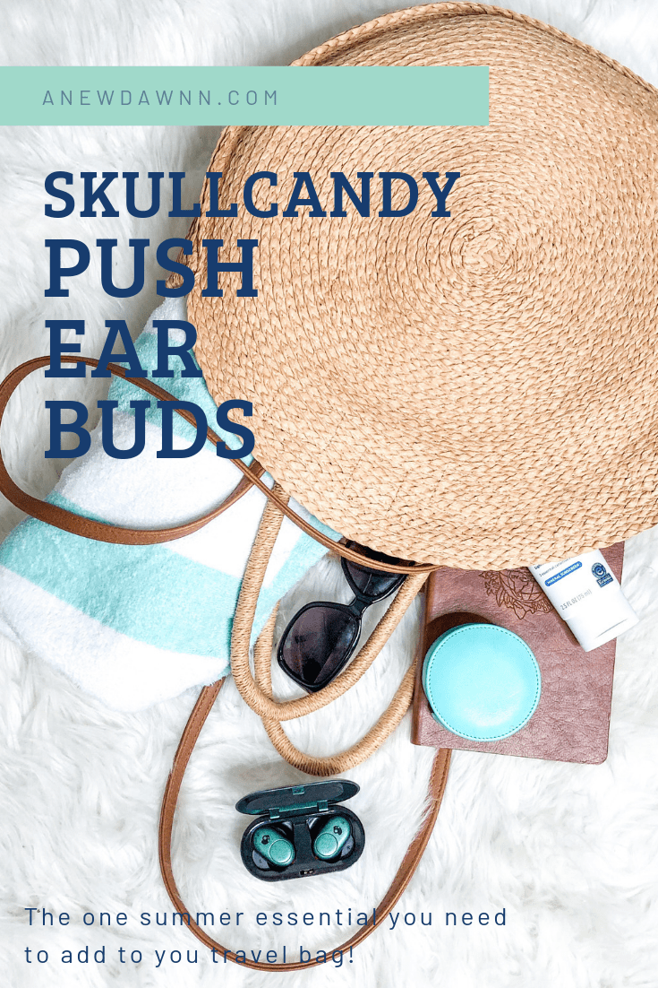SkullCandy Push Ear Buds - This Summer's Must Have Accessory