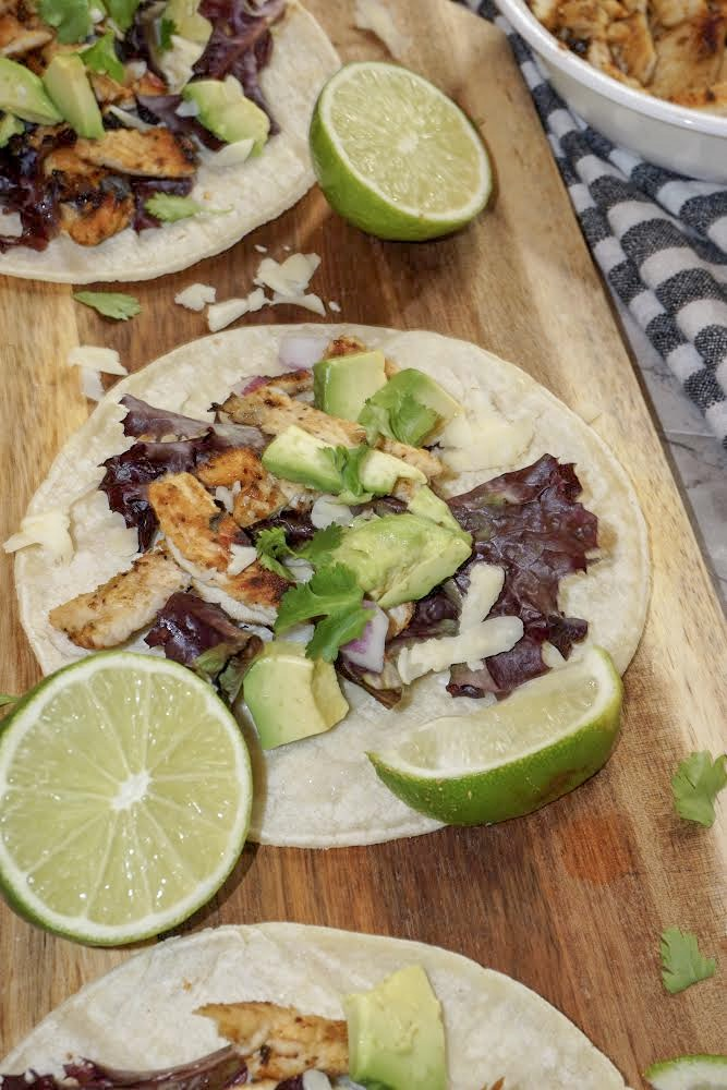 Don't wait for Taco Tuesday to  enjoy these Cilantro Lime Chicken Tacos! They're great any night of the week!